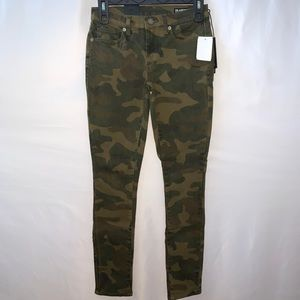 Blank NYC The Reade Crop Skinny Camo Jeans Size 24